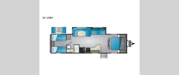 Trail Runner 30 USBH Floorplan