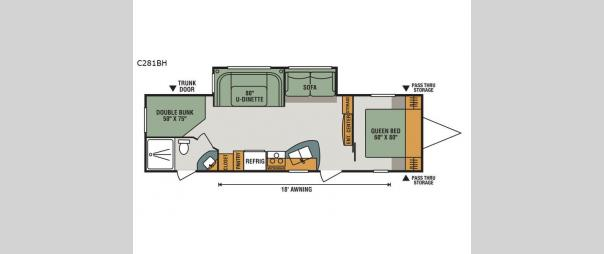 Connect C281BH Floorplan