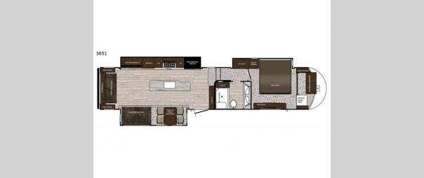 Sanibel 3651 Floorplan