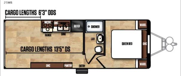 Work and Play Ultra LE 25WB Floorplan