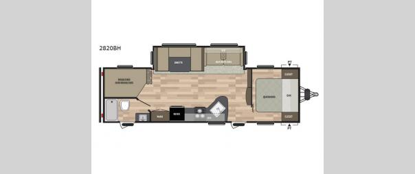 Summerland 2820BH Floorplan