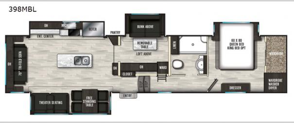 Brookstone 398MBL Floorplan
