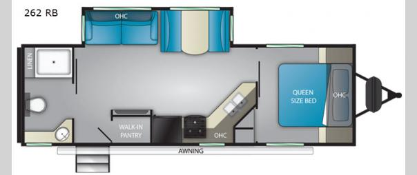 Sundance Ultra Lite 262RB Floorplan