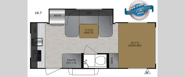 No Boundaries NB16.7 Floorplan