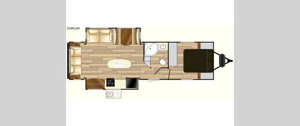 Fun Finder Signature Edition F-319RLDS Floorplan