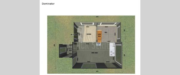 Black Series Camper Dominator Floorplan