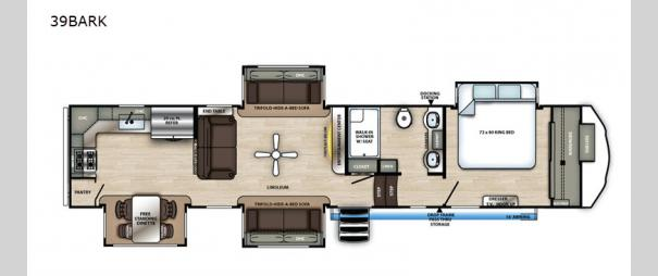 Sierra 39BARK Floorplan