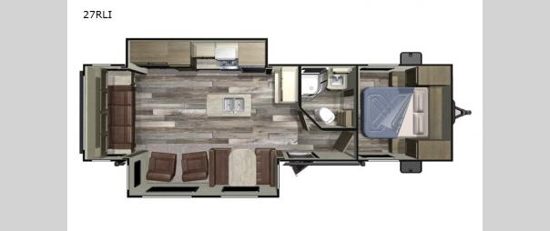 Autumn Ridge Outfitter 27RLI Floorplan