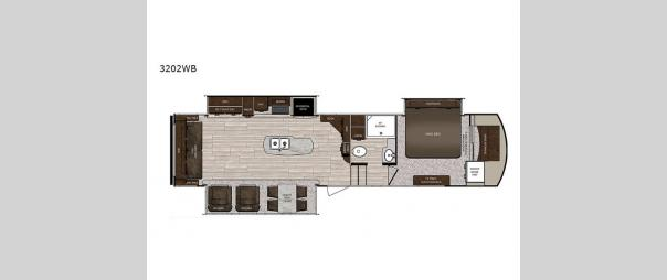 Sanibel 3202WB Floorplan