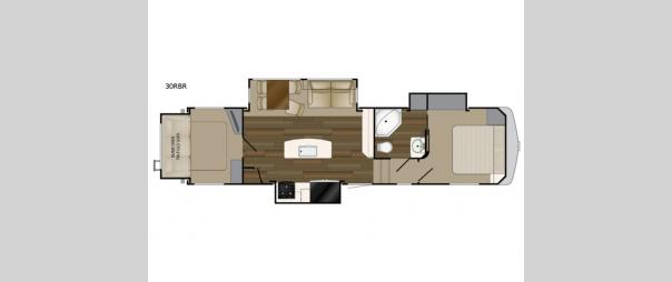 ElkRidge 33RBR Floorplan