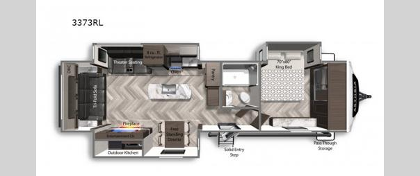 Astoria 3373RL Floorplan