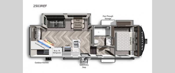 Astoria 2503REF Floorplan