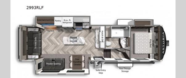 Astoria 2993RLF Floorplan