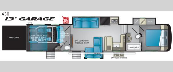 Road Warrior 430RW Floorplan
