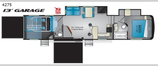 Road Warrior 4275RW Floorplan