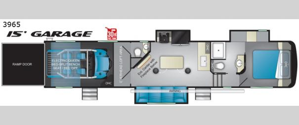 Road Warrior 3965RW Floorplan