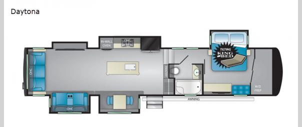 Landmark 365 Daytona Floorplan