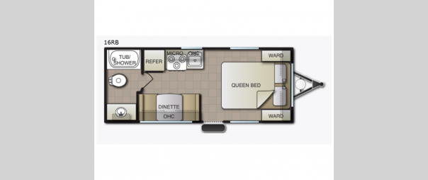 Mighty Lite 16RB Floorplan