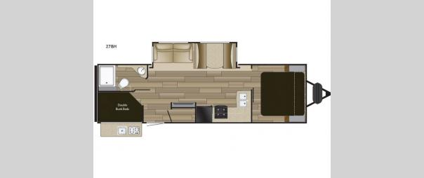 Fun Finder XTREME LITE 27BH Floorplan