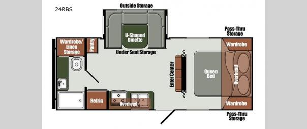 Kingsport Ranch 24RBS Floorplan