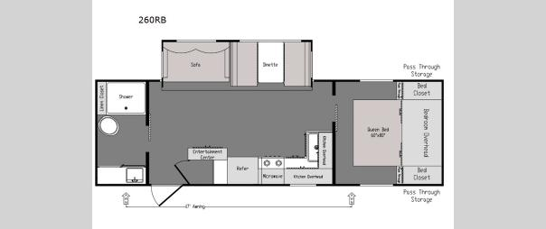 Intrepid 260RB Floorplan