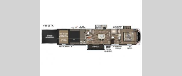 Venom V-Series V3815TK Floorplan