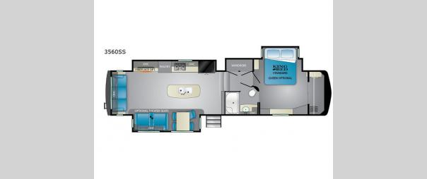 Big Country 3560SS Floorplan