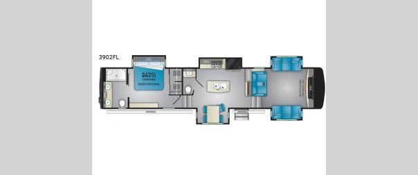Big Country 3902FL Floorplan