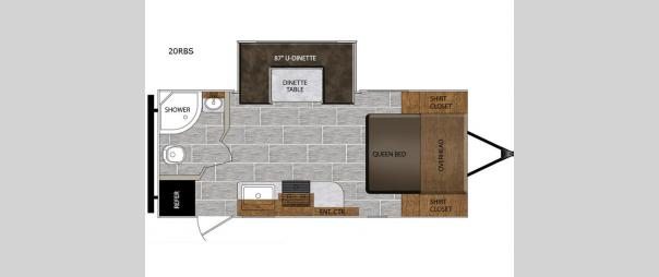 Tracer Breeze 20RBS Floorplan