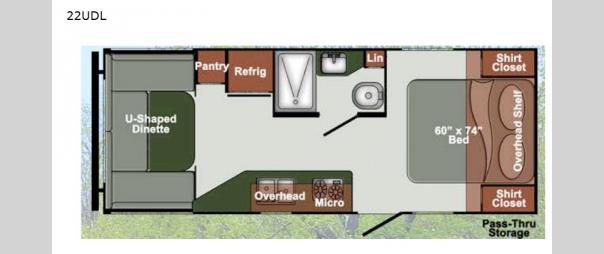 Kingsport Ranch 22UDL Floorplan