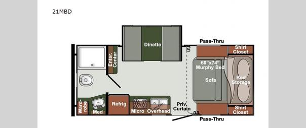 Kingsport Ranch 21MBD Floorplan