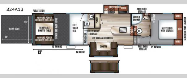 Vengeance 324A13 Floorplan