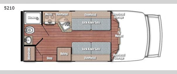 Yellowstone Cruiser 5210 Floorplan