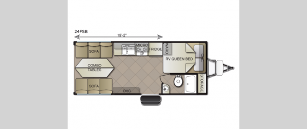 Sea Breeze 24FSB Floorplan