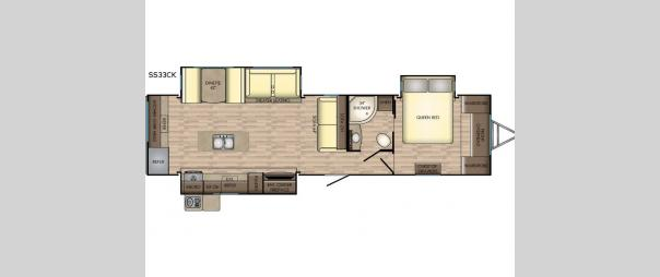 Sunset Trail Grand Reserve SS33CK Floorplan