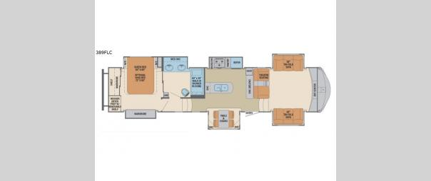 Columbus Compass 389FLC Floorplan