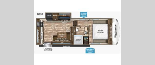 Reflection 150 Series 220RK Floorplan