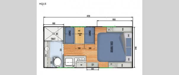 Black Series Camper HQ15 Floorplan
