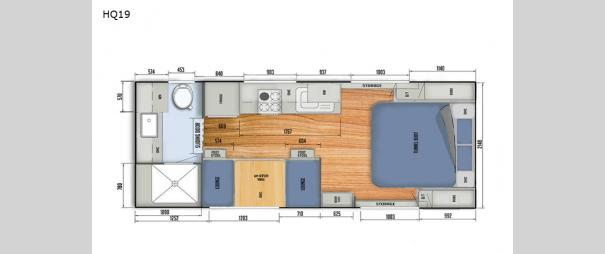 Black Series Camper HQ19 Floorplan