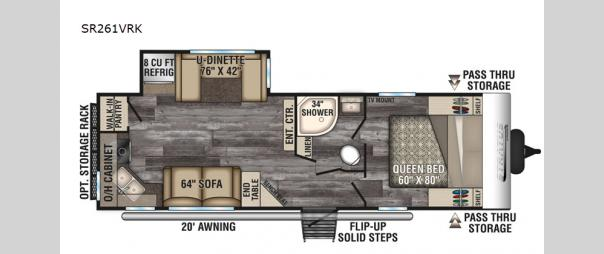 Stratus Ultra-Lite SR261VRK Floorplan