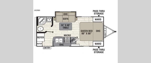 Freedom Express 192RBS Floorplan