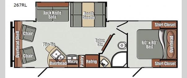 Kingsport Ranch 267RL Floorplan