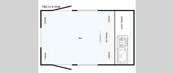 T@G XL 6-Wide Floorplan