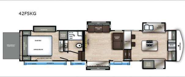 RiverStone 42FSKG Floorplan