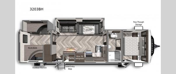 Astoria 3203BH Floorplan