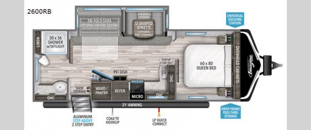 Imagine 2600RB Floorplan