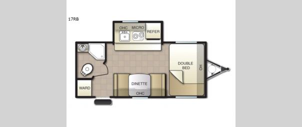 Mighty Lite 17BB Floorplan