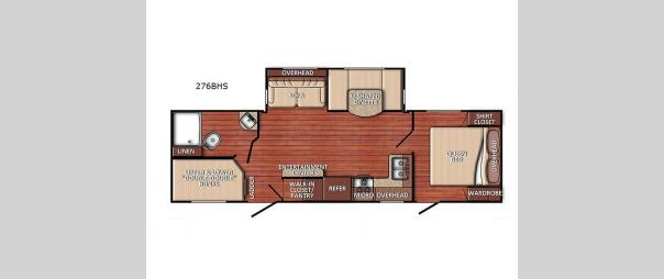 Kingsport 276BHS Floorplan