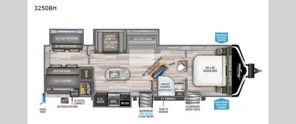 Imagine 3250BH Floorplan