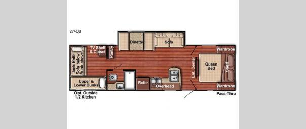 Kingsport 274QB Floorplan